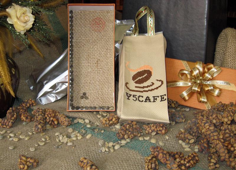 Sản phẩm cà phê chồn của Y5Cafe