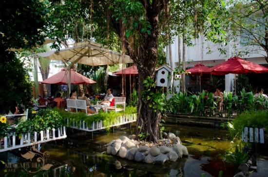 khuon vien Cafe Khuc Mua Thu