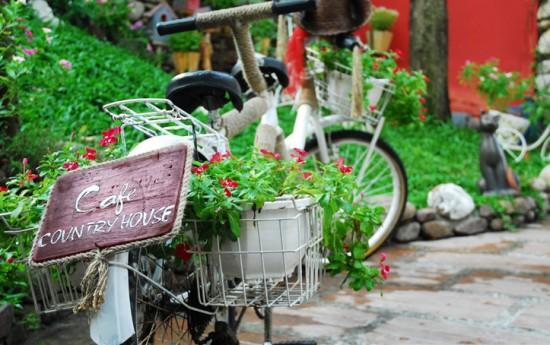 Quán cafe country house ở Gò Vấp. Ảnh 1