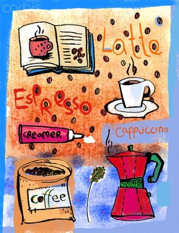 Nhiều kiểu cà phê khác nhau